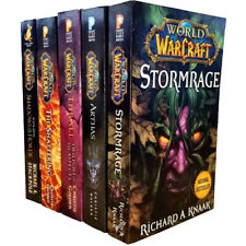 World Of Warcraft Stormrage,Arthas,The Shattering,Thrall 5 Book Collection Set