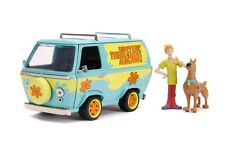 1 24 Scooby Doo Mystery Machine With Figures Movie From Mr Toys