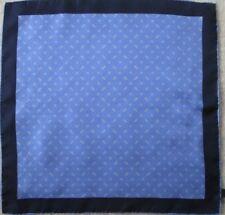 Eccezionale sciarpa tipo misura collo seta TBEG vintage foulard 42 x 42 cm