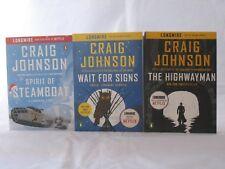 Walt Longmire Stories 3-Book Set of Novellas by Craig Johnson (Trade Paperback)