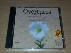 OVERTURES VOLUME II CD BRAND NEW SEALED BEETHOVEN MOZART AUBER MASCAGNI.