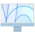 """Apple 24"""" iMac w/ Retina 4.5K Apple M1 8GB 256GB SSD Blue MGPK3LL/A 2021 Model"""