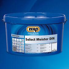 ZERO Select Meister DIN weiß 12,5 Liter -Airlessgeeignet+Lösemittelfrei-