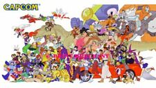 CAPCOM 80s 90s Poster Wall Art Home Photo Print 24x36 inches
