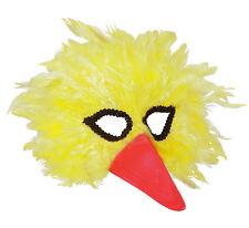 vogelmaske con AMARILLO plumas NUEVO - Carnaval Máscara Cara