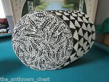 M.R. Romero N.M. ACOMA POTTERY, LARGE vase in multiple rings, RARE, signed
