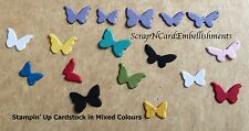 • • • Die Cuts ~ PETITE BUTTERFLIES x70 White ~ Stampin' Up Card Stock ~ Cards