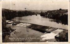 CPA  Brioude - Le Barrage de la Bajeasse sur l'Allier ou se péche le ...(585676)