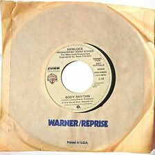 SOUL DISCO promo 45: HEMLOCK Body Rhythm mono/stereo in Warner/Reprise sleeve