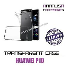COVER TRASPARENTE HUAWEI P10 CUSTODIA CASE SILICONE TPU SLIM TRANSPARENT CASE