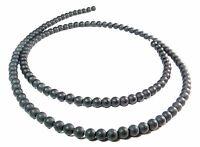 😏 Onyx Perlen mattierte Kugeln 3 mm Edelsteinperlen Strang Saatperlen matt 😉