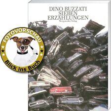 Dino Buzzati: Sieben Erzählungen - tiefgründig, irreal, absurd & grotesk (Top!!)
