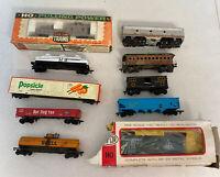 Vintage Lot  HO scale train,  Santa Fe, Popsicle, Cyanamid, Life-Like, More