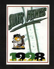 1998 South Bend Silver Hawks Schedule--Michiana Paintbal