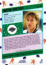 1991 Score National #1 Wayne Gretzky