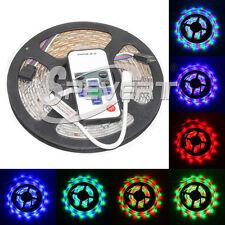 Impermeabile 5M 3528 SMD 300 LED Luce RGB Striscia Lampada + RF Remote