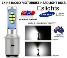 H6 BA20D 12V LED HI LO BEAM MOTORBIKE MOTORCYCLE HEADLIGHT HEADLAMP BULB LAMP