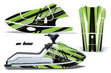 Jet Ski Grafiken Set Pwc Sticker Wrap Kawasaki X2 650 1986-1995 Inline Grn