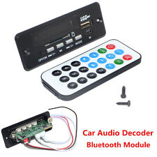Car Kit 12V MP3 WMA Decoder Board Audio Blueteeth Module USB SD Radio w/ Remote