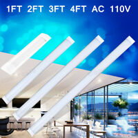 4FT 3FT 2FT 1FT LED Shop Light Super Bright Utility Ceiling Fixture Home Garage