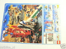 LEGO BROCHURE FLYER CATALOG TOYS 1995 DUTCH 2 PAGES 047