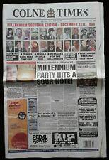 More details for colne times friday, december 31st, 1999 millennium souvenir edition newspaper