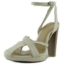 Zapatos de tacón de mujer de tacón alto (más que 7,5 cm) de color principal blanco Talla 36.5