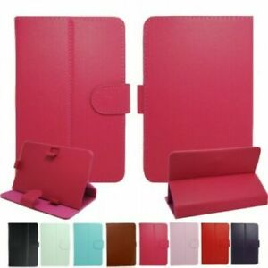 Universal Smart Magnetic Book Flip Case Cover For 7 & 10 Inch Devices Tablets