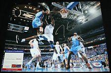 RARE SHOT Kevin Durant signed 11 x 14, Oklahoma City Thunder, Longhorns, PSA/DNA