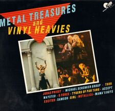 Various Metal(Vinyl LP)Metal Treasures And Vinyl Heavies-Action Replay-NM/M