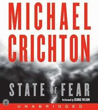 State Of Fear by Michael Crichton Audiobook MP3-CD UNabridged - BRAND NEW!