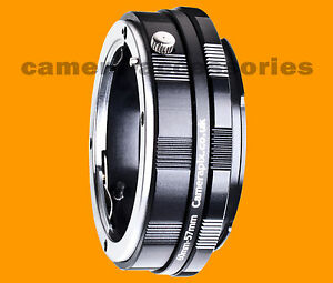 Macro Olympus 4/3 Four Thirds lens to Canon EOS EF EFS camera mount adapter ring