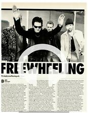 ☆☆  ADVERT U2 ZOOROPA REVIEW ARTICLE RARE MAGAZINE CD MC A4 Poster ☆☆