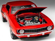 1969 Camaro Chevy Vintage Drag Race Sport Car 24 Auto 1 18 Carousel Red 12 Art