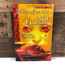 The SANDMAN Neil Gaiman PRELUDES NOCTURNES Volume 1 Graphic Novel