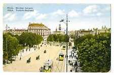 Latvian Town View Riga Brivibas Avenue PC 1920s