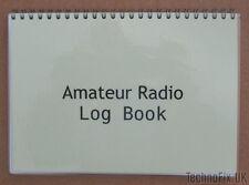 Compact Radio Amateur Log Book-feuilleté Couvre