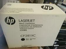 Genuine HP 81X CF281X BLACK TONER CARTRIDGE MFP M630