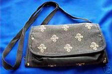 Organizer Travel Bag Shoulder Bag Fleur de lis decoration purse