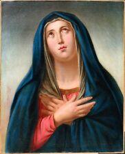 Friedrich VON THELEN-RÜDEN  1836-?   Heilige  Madonna