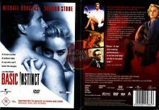 BASIC INSTINCT Sharon Stone Michael Douglas thriller NEW DVD