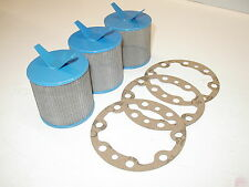 (3) Suntec and Sundstrand J & H Strainer Kits includes Gaskets Oil Burner Pump