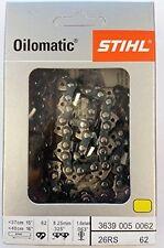 "16"" STIHL Chainsaw Chain 26RS 62 Rapid Super   3639 005 0062 26 RS 62"