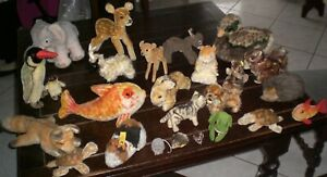 NICE & OLD LOT of STEIFF 25 ANIMALS