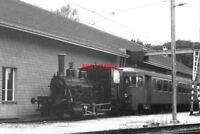 PHOTO  BASEL TRAIN 1988 LAUPEN STEAM LOCO 1