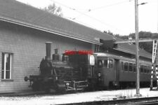 PHOTO  BASEL TRAIN 1988 LAUPEN STEAM LOCO 1