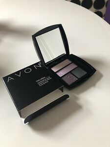 New Avon True Colour Purple Haze Eyeshadow Quad