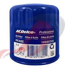 Genuine GM ACDelco Engine Oil Filter PF48E PF48F 12690386 19383838