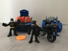 Imaginext DC Super Batman vehículo Batimóvil Coche Luces Rover Gatúbela Bicicleta