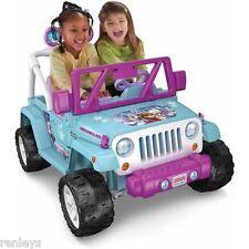 Disney Frozen 12v Electric Ride On Toy Jeep 4 Wheeler 4x4 Toddler Kids Girls